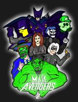 mask avengers 2 OFFICIAL by ztenzila