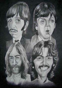 'The Beatles' W.I.P. 2 by ccobb1234