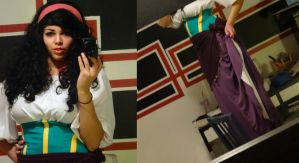 First try of Esmeralda (completed) by EmyxCosplay