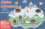 Alpine Adventure Map Illustrations by Bel0ved