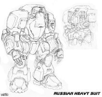 Russian Heavy Bot by Stormcrow135