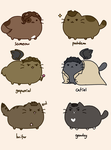 Pusheen SUPERNATURAL - STYLE by gvardianangel