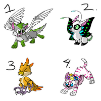 Custom Adopts by Electric-Mongoose
