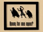 Hitchhiking Ghosts Wall Decor by SilhouettesbyMarie