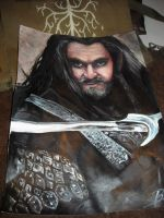 Thorin Oakenshield by jusza
