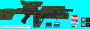 Ultimate Pulse Rifle by kavinveldar