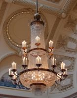 USNA Memorial Hall Chandelier by FantasyStock