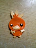 Torchic necklace pendant by CynicalSniper
