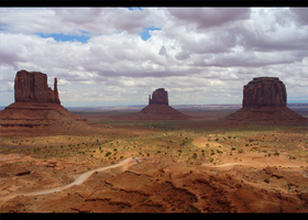 monument valley by m0r1Z