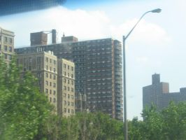 NYC on Highway by Bladius021