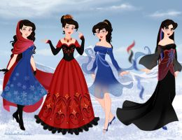 Lady Desmoria, Disney Style by M-Mannering