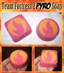 TF2 RED Pyro Soap by SerovarBlowtorch