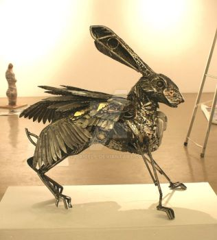 FLYING HARE OTHERSIDE by Daicelf