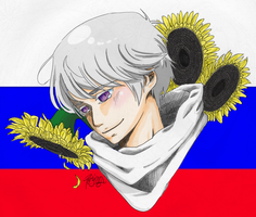 APH: Russia's National Flower by Kajina