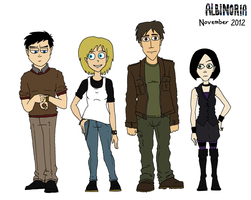 Protagonists November 2012 by Jacob-R-Goulden