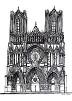 Cathedral by meteoric-iron