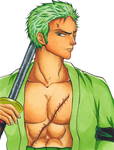 One Piece: Zoro by GR-the-queen