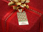 Merry Christmas Tree Pattern Gift Tags by es32
