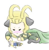 Loki Kitty by girlyanimegal