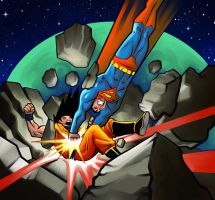 Epic Battle: Goku vs Superman by MasonEasley