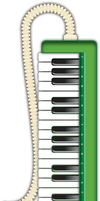 Melodica Icon by barkerbaggies