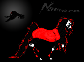 Quoth the Raven, Nevermore by nightxfalling