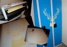 stag decal by iMacCime