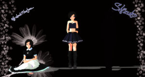 [MMD] Shizuko (and some love is a bet info) by justcatx3