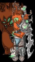 Infernal Blade by Spasticgraphic