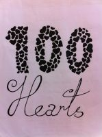 100 Hearts by Sireynia