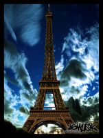 Eifel Tower by x-ReMuSik-x