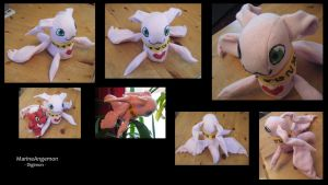 Plushie - MarineAngemon by Gomis