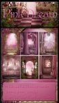 Pink Dream backgrounds new by moonchild-ljilja