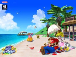 Super Mario Sunshine Desktop by princesspeach11