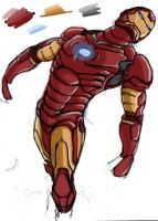 ironman by h-rv-e