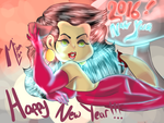 Happy New Year!!!2016!! by LoriAndroid2000