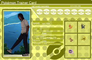 Veil Pine Trainer Card by stormwolves