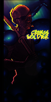 Chinese Soldier by GiladAvny