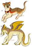 CLOSED  - AUCTION - Mixed Adoptables 293 by LeaAdoptables