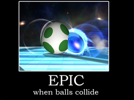 When balls collide by Dragoshi1