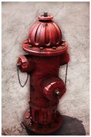 Fire Hydrant Textured by 16Honestly