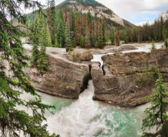 Natural Bridge 9 Picture Pano2 by Joe-Lynn-Design