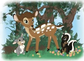Bambi by gillian-r