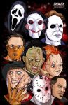 Horror icons by TheFireAngel