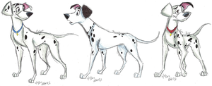 101 Dalmatians-Grown-Up Pups part 1 by Stray-Sketches