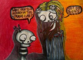 Lenore, the Cute Little Dead Girl by TheKellyLlama