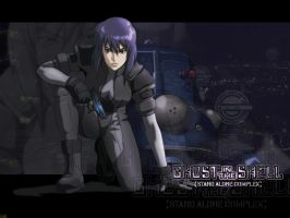 Ghost in the Shell D by Billysan291