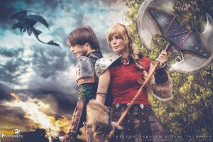 ASTRID and HICCUP by PECKPHOTOGRAPHY