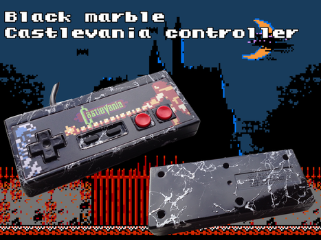 Black Marble Castlevania by Hananas-nl