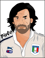 Andrea Pirlo by al3ameed1927